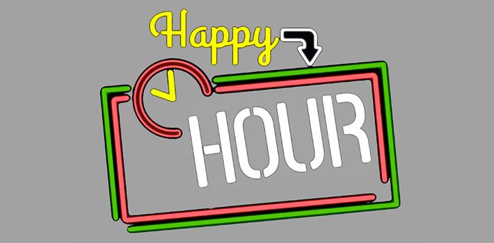 Ven a nuestra 'Happy Hour' y consigue precios exclusivos para tu viaje de 2019
