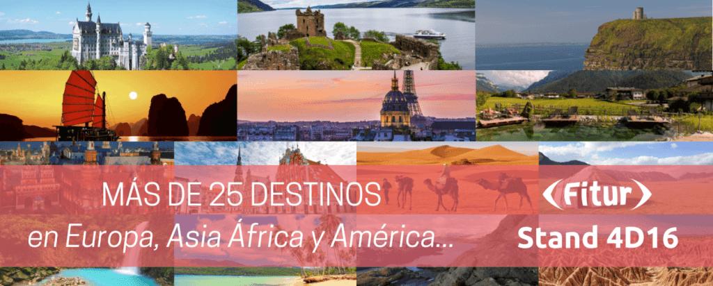 Viajes con Españoles reúne en Fitur a agencias de receptivos españoles en más de 25 países