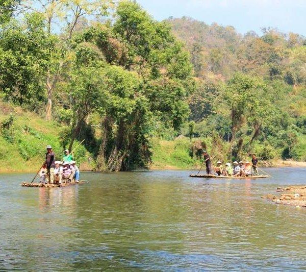 Bamboo Rafting Chiang Mai-Tailandia-Camboya