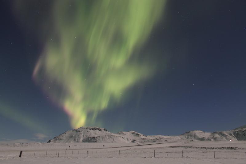 Viaja a Islandia para avistar las auroras boreales