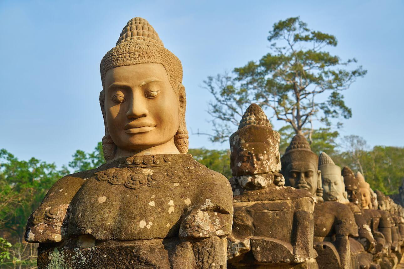 ¿Qué vacunas necesito para viajar a Camboya?