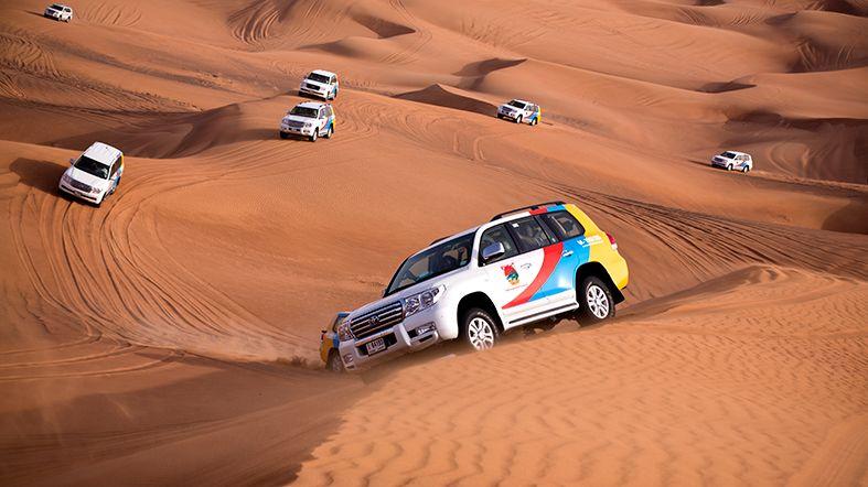 Visita a Sharjah y ruta por el desierto en 4×4