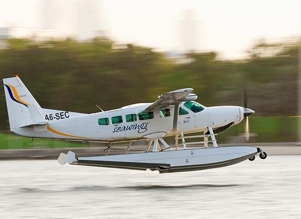 Paseo en hidroavión y tour por Dubai
