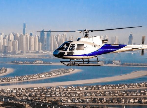 Dubai desde el aire: paseo en helicóptero