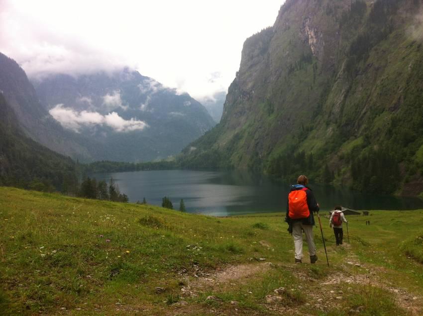 Trekking en los Alpes alemanes de Berchtesgaden