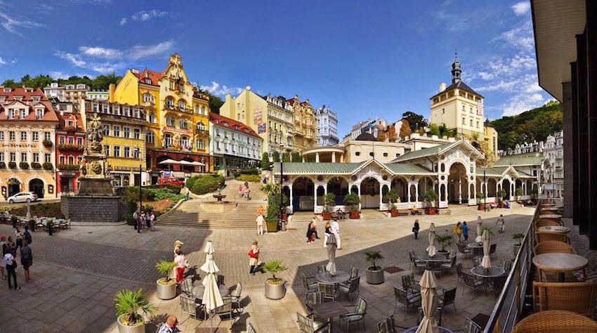 Karlovy Vary, una ciudad para disfrutar