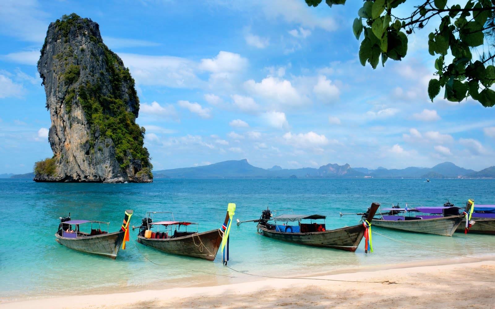 """Un viaje para disfrutar del """"triángulo mágico"""" y Krabi"""
