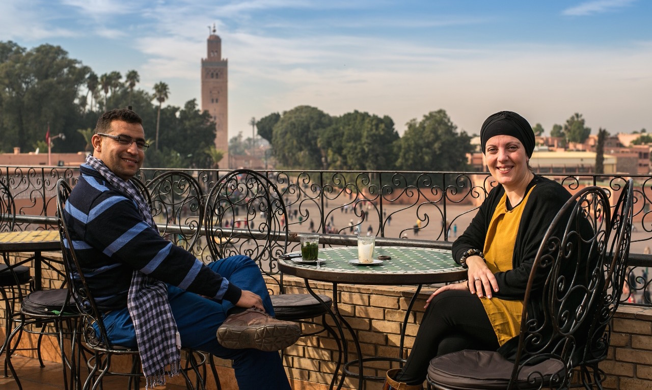 Viajes Marrakech, la fórmula ideal para viajar con españoles a Marruecos