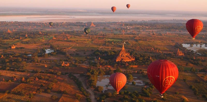 Conoce la auténtica Asia: Myanmar, Camboya y Tailandia
