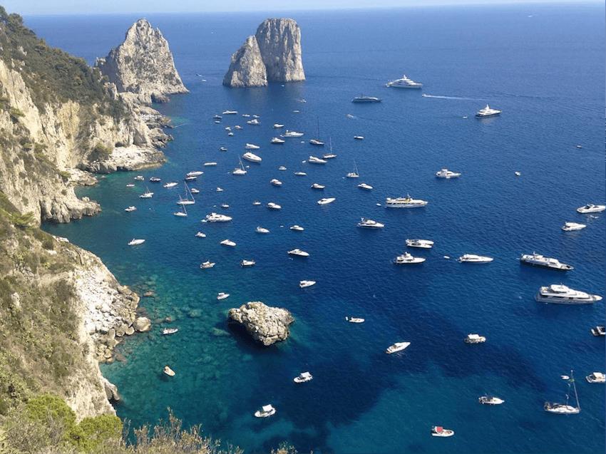 Pompeya y Capri inolvidables