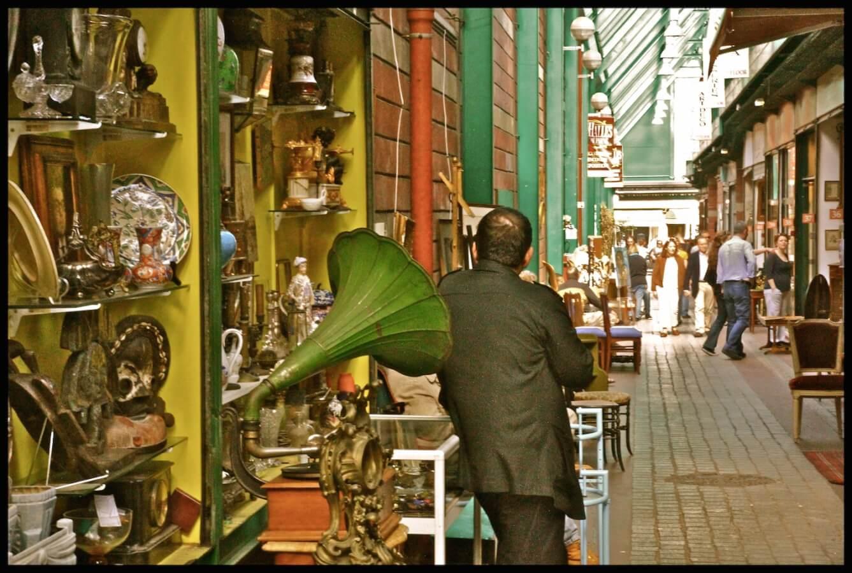 Tour '14 mercados en 1′ por las Pulgas de Saint-Ouen