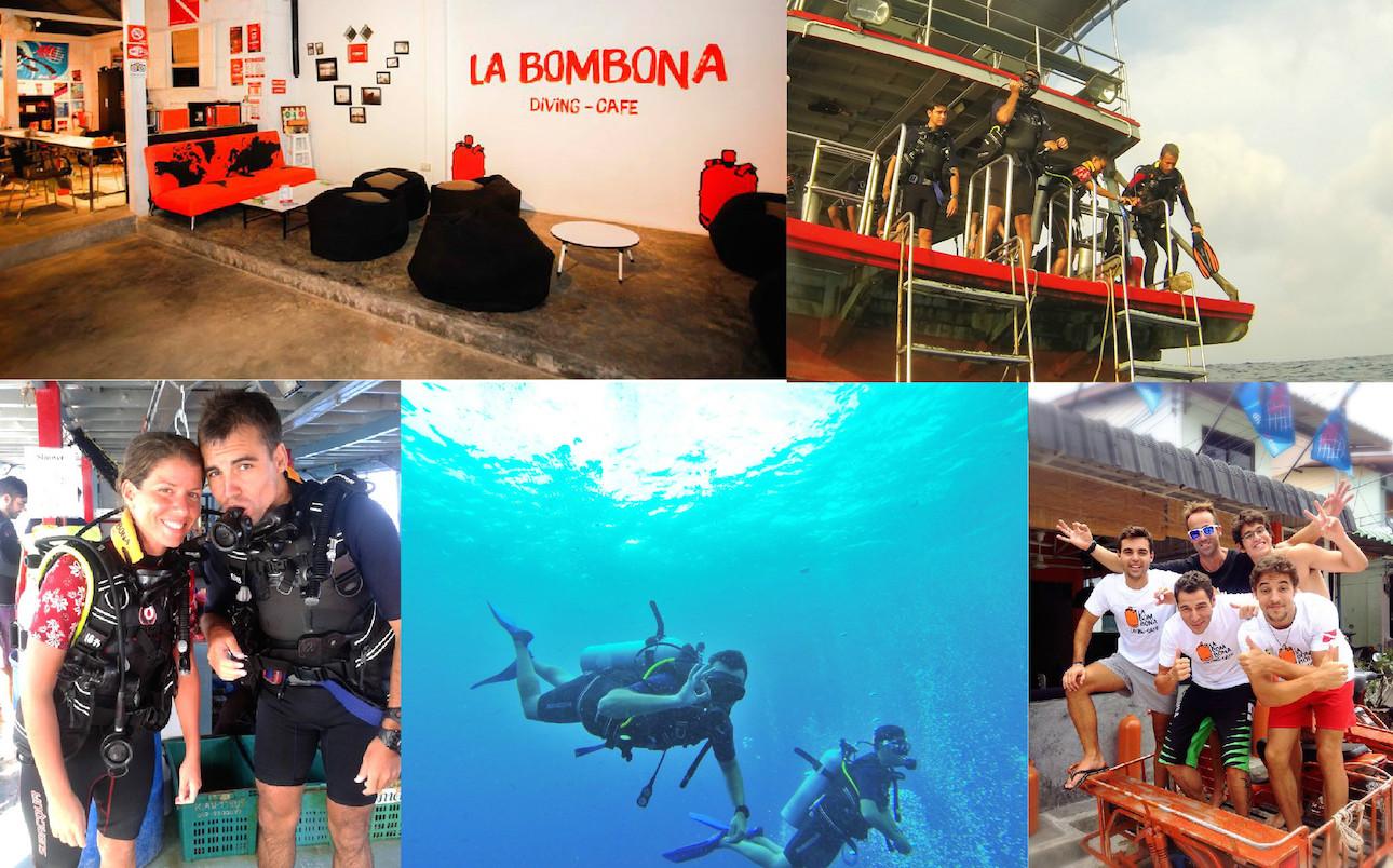 La Bombona Diving, tu escuela española de buceo en Tailandia