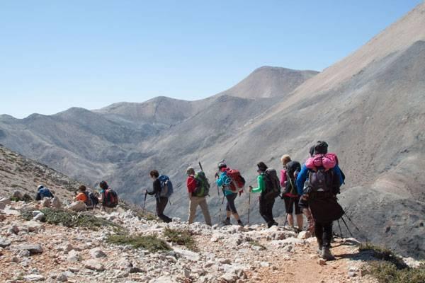Travesía por las cumbres y gargantas de Creta