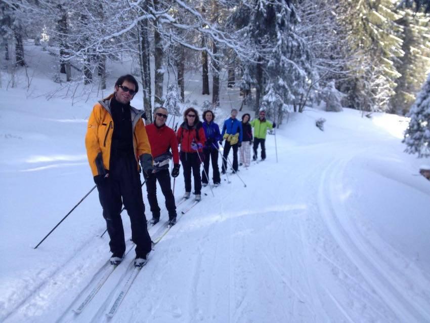 Curso de iniciación al esquí de fondo en la Selva Negra