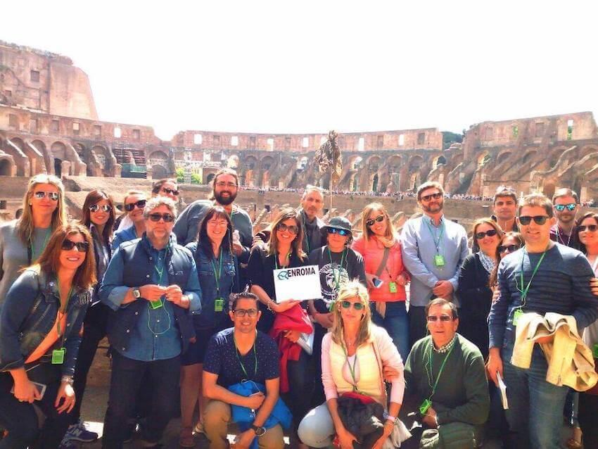Tour Coliseo, Foro romano y Palatino.